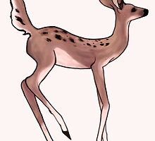 Max's Deer Shirt (High-Res) by artisticaviary