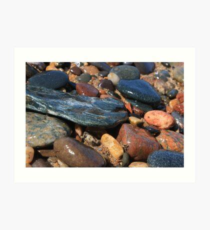 Superior Pebbles Art Print