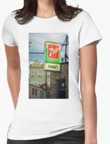 Frankie's Tavern, Binghamton, New York Womens Fitted T-Shirt