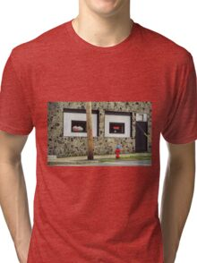 Frankie's Tavern, Binghampton, New York Tri-blend T-Shirt