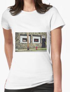 Frankie's Tavern, Binghampton, New York Womens Fitted T-Shirt