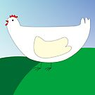 chicken by Laschon Robert Paul
