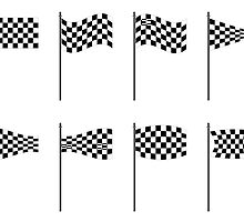 Checkered flags collection by robertosch