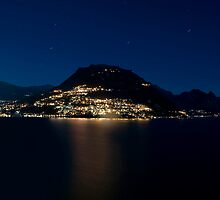 Lugano Lake by Luca Renoldi