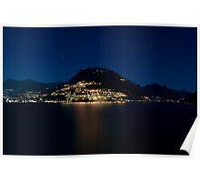 Lugano Lake Poster
