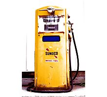Retro Pump ~~ Photographic Print