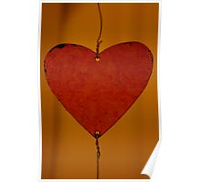 Hanging Heart Poster