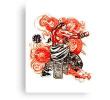dragon fist Canvas Print