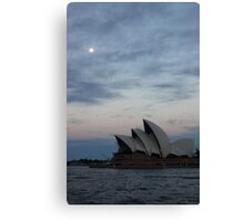 Opera by the Moon Canvas Print