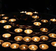 Candles at Notre Dame  by megsbeck