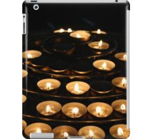 Candles at Notre Dame  iPad Case/Skin