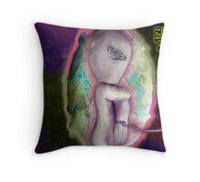 Alien Fetus 2010 Throw Pillow