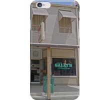 Dirty Sally's Saloon, Brunswick, Missouri, USA iPhone Case/Skin