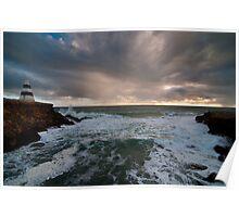 Stormy Seas at Robe Poster