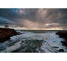 Stormy Seas at Robe Photographic Print