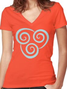 Air Nation Women's Fitted V-Neck T-Shirt