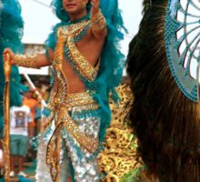 Rio Carnival, Rio de Janeiro, Brazil Sticker