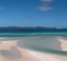 Whitehaven Beach, Whitsunday's, QLD, Australia by Martyn Baker | Martyn Baker Photography