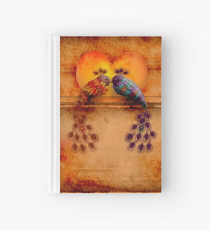Love Birds Hardcover Journal