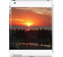 Camels At Sunset, Broome, Western Australia iPad Case/Skin