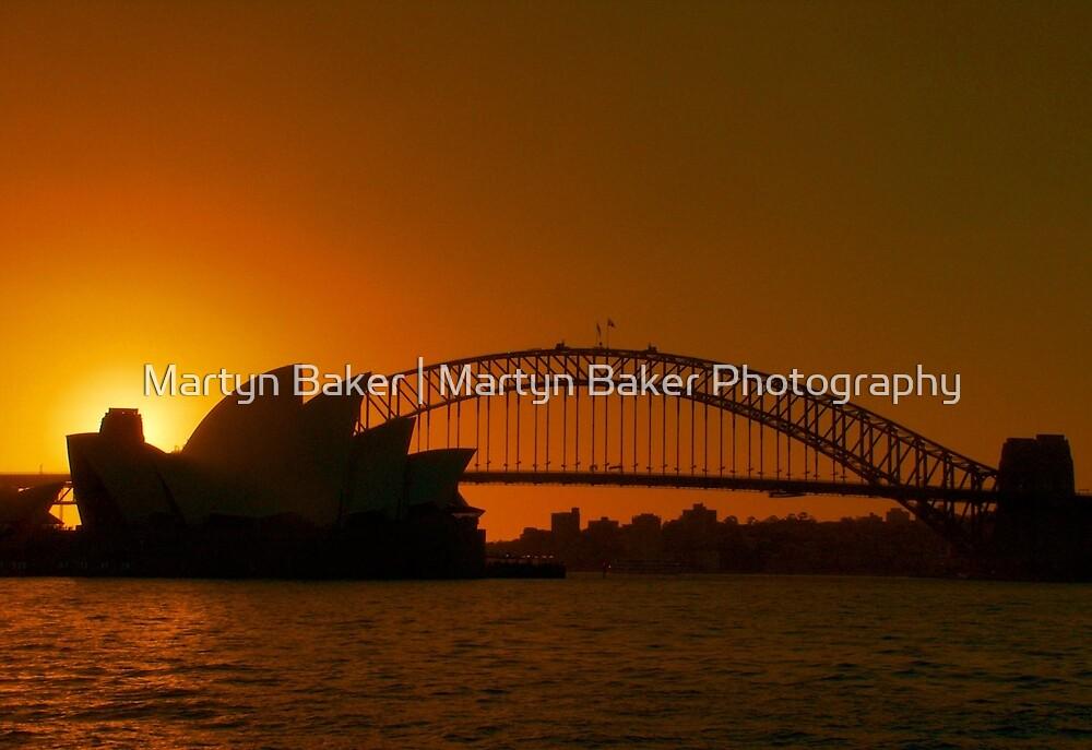 Sydney By Sunset by Martyn Baker | Martyn Baker Photography