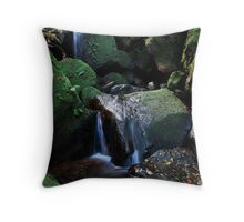 Valley of the Waters - Blue Mountains Throw Pillow