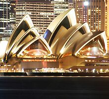 Space - Sydney Opera House by KelWalker