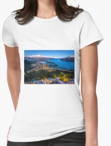 Queenstown Glow Womens Fitted T-Shirt