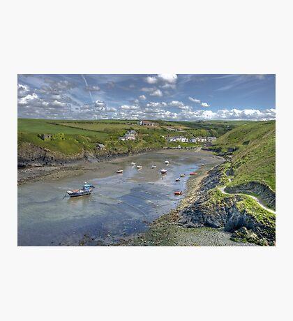 Abercastle, North Pembrokeshire, Wales Photographic Print