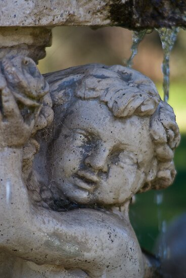 Cherub Fountain by Deborah McGrath