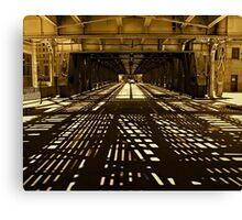 Chicago-Beneath Gotham Canvas Print
