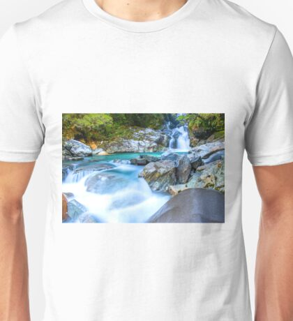 Waterfall in Fiordland National Park Unisex T-Shirt