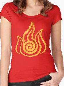 Fire Nation Women's Fitted Scoop T-Shirt