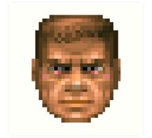Doom Face Art Print
