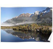 Reflections at Mirror Lakes Poster