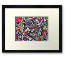 Abstract Notions Framed Print