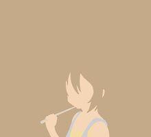 Ritsu Tainaka Minimalist by Muyol