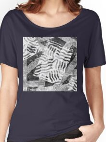 The Boxed In Abstract - Digitally Enahanced Version 1 Women's Relaxed Fit T-Shirt