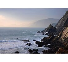 a little rocky cove Photographic Print