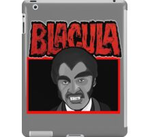 Blacula portrait iPad Case/Skin