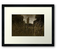 West Park - The Tower Framed Print