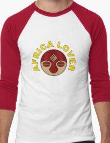 Africa Lover Tee Men's Baseball ¾ T-Shirt