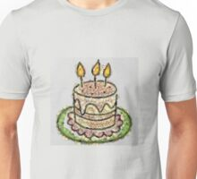 Fruit & Vegetable Birthday Cake Unisex T-Shirt