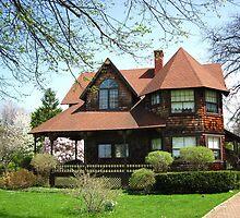 The House At Cedar Bank ~ April 2010 by artwhiz47