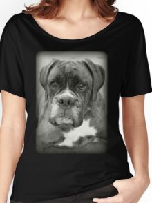 Is That For Me?.... Boxer Dogs Series  Women's Relaxed Fit T-Shirt