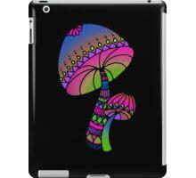 Shrooms - pink/blue/green/purple iPad Case/Skin