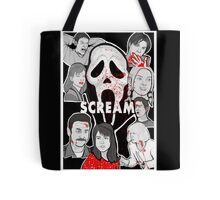 Scream character collage Tote Bag