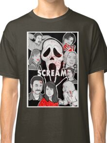 Scream character collage Classic T-Shirt