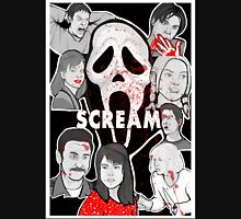 Scream character collage T-Shirt