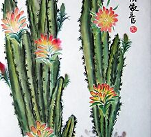 Cactus by Brushespapers